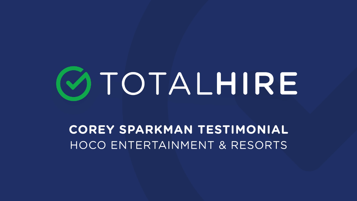 Corey Sparkman Hoco Entertainment Resorts Testimonial Total Hire