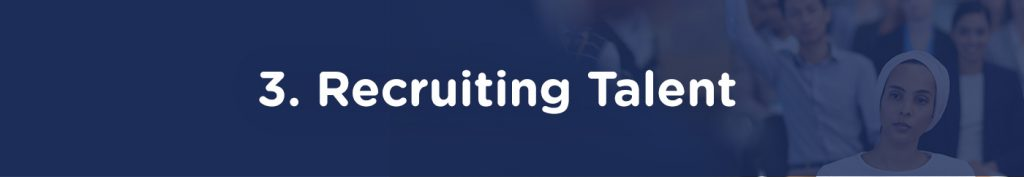 3. Recruiting Talent